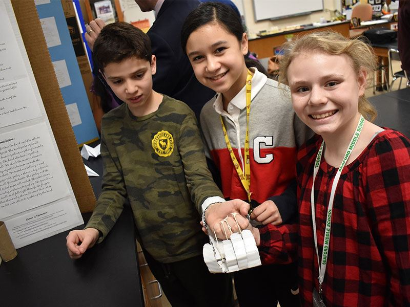 Middle School Science Fair Expands to All STEM Fields