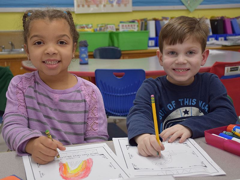 Young Writers Build Their Storytelling Skills