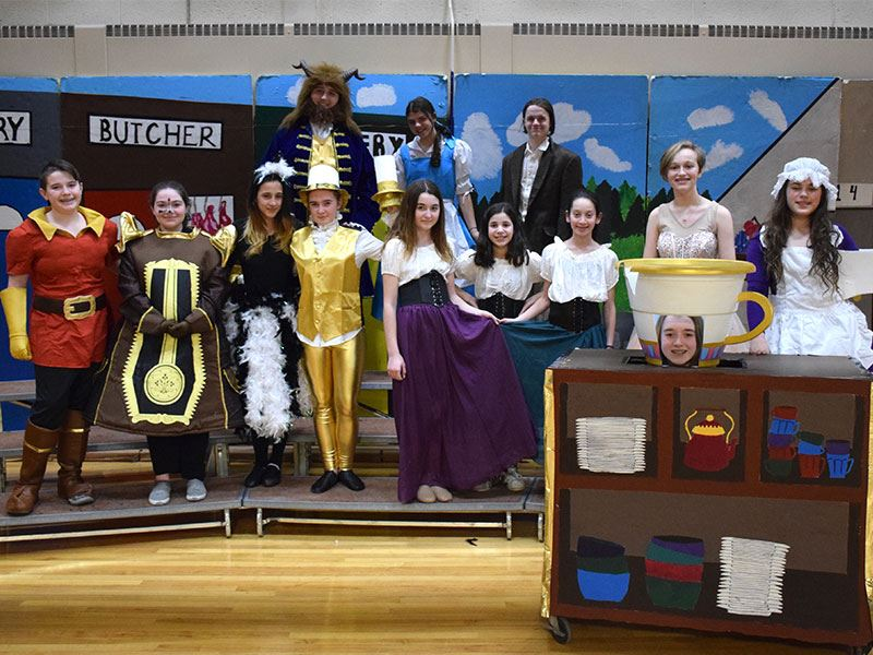 'Beauty and the Beast' Comes to Seaford Middle School