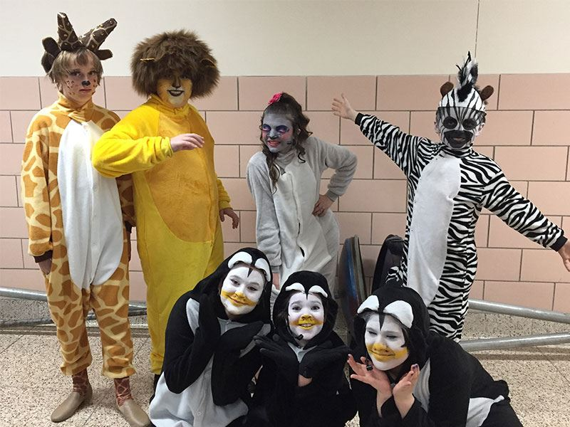 An Animal Tale at Seaford Middle School