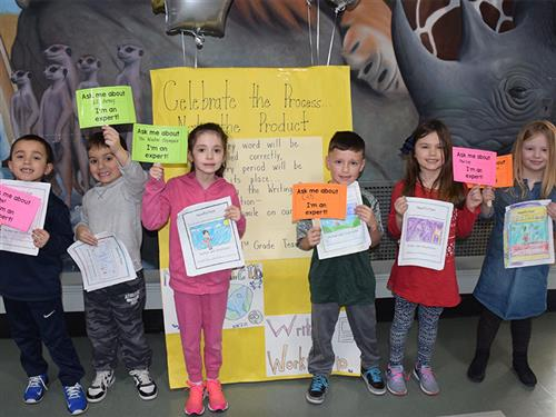 Young Writers Celebrate at Manor