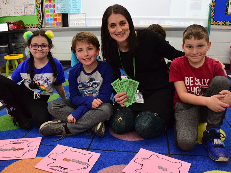 Money Makes Math Fun at Harbor