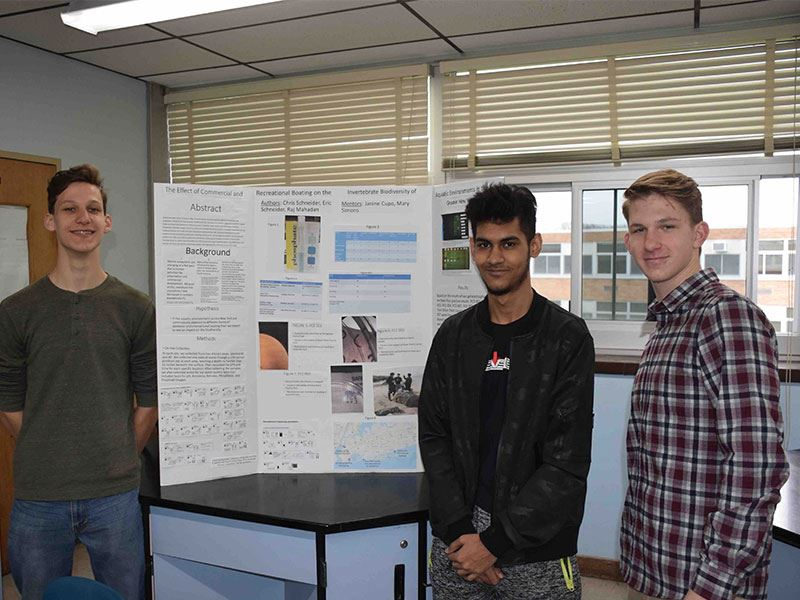 Seaford's Young Scientists Share Their Research
