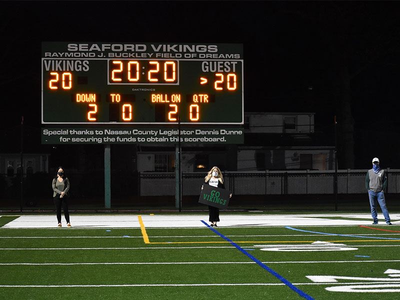 Seaford Shines a Light for Senior Athletes