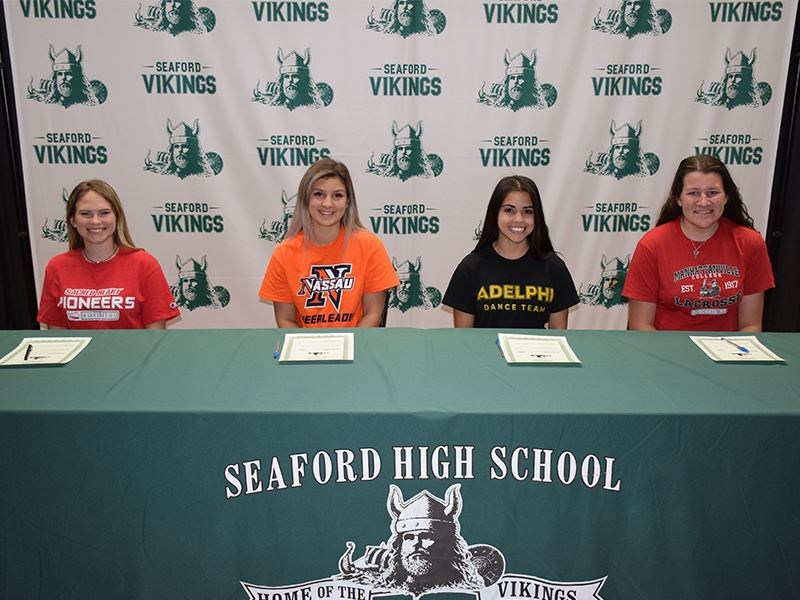 Four Seaford Athletes are College Bound