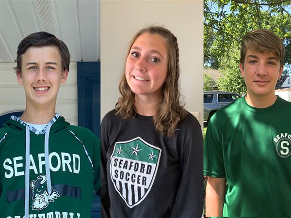 Sophomore Trio Attend Virtual Leadership Conference