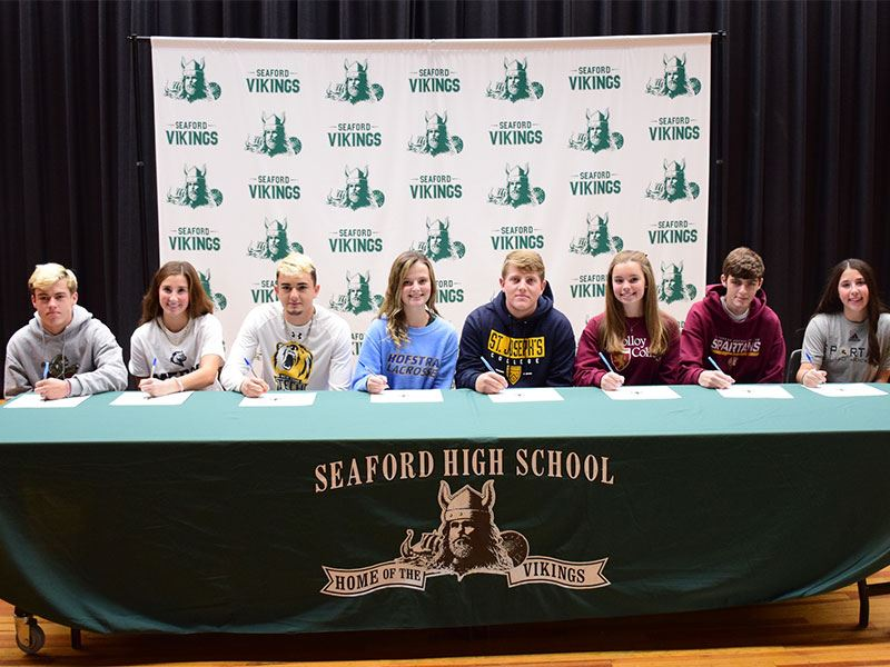 Seaford Athletes to Join Elite Company