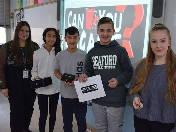 Spotlight Shines on Technology at Seaford Middle School