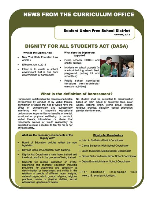 DASA Newsletter