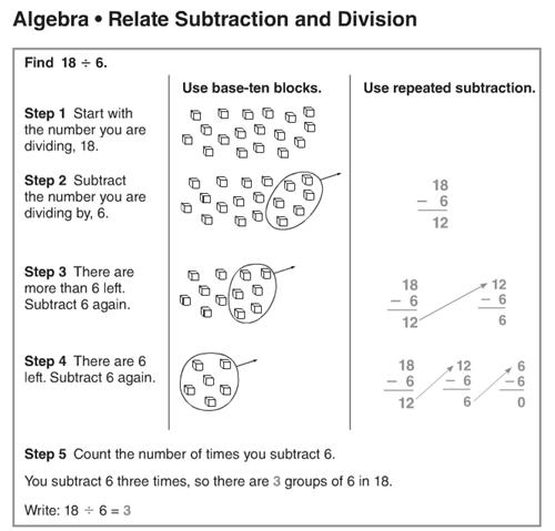 math worksheet : bianco chelsea  math 6 5 : Relating Multiplication And Division Worksheets